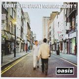 Oasis, Don't Look Back In Anger, Piano, Vocal & Guitar (Right-Hand Melody), sheet music, piano notes, chords, song, artist, awards, billboard, mtv, vh1, tour, single, album, release