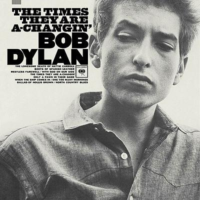 Bob Dylan, The Times They Are A-Changin', Piano, Vocal & Guitar (Right-Hand Melody), sheet music, piano notes, chords, song, artist, awards, billboard, mtv, vh1, tour, single, album, release