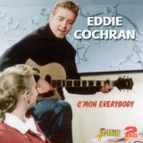Eddie Cochran, C'mon Everybody, Piano, Vocal & Guitar (Right-Hand Melody), sheet music, piano notes, chords, song, artist, awards, billboard, mtv, vh1, tour, single, album, release