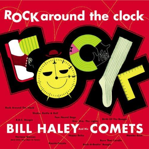 Bill Haley & His Comets, Rock Around The Clock, Piano, Vocal & Guitar (Right-Hand Melody), sheet music, piano notes, chords, song, artist, awards, billboard, mtv, vh1, tour, single, album, release