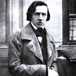 Frederic Chopin, Slow Theme from Fantaisie Impromptu, Melody Line & Chords, sheet music, piano notes, chords, song, artist, awards, billboard, mtv, vh1, tour, single, album, release
