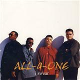 All-4-One, I Swear, Piano, Vocal & Guitar, sheet music, piano notes, chords, song, artist, awards, billboard, mtv, vh1, tour, single, album, release