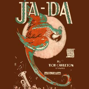 Bob Carleton, Ja-Da, Melody Line & Chords, sheet music, piano notes, chords, song, artist, awards, billboard, mtv, vh1, tour, single, album, release