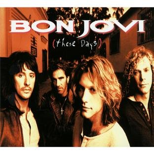Bon Jovi, These Days, Piano, Vocal & Guitar (Right-Hand Melody), sheet music, piano notes, chords, song, artist, awards, billboard, mtv, vh1, tour, single, album, release