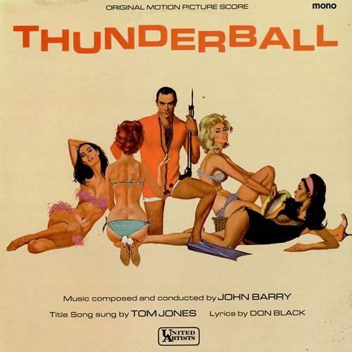 Tom Jones, Thunderball (theme from the James Bond film), Piano, Vocal & Guitar (Right-Hand Melody), sheet music, piano notes, chords, song, artist, awards, billboard, mtv, vh1, tour, single, album, release