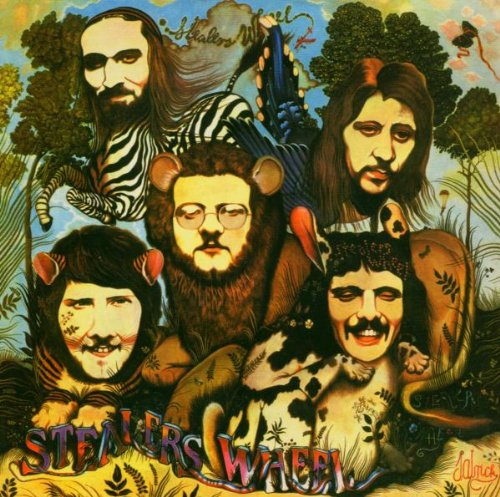 Stealers Wheel, Stuck In The Middle With You, Piano, Vocal & Guitar, sheet music, piano notes, chords, song, artist, awards, billboard, mtv, vh1, tour, single, album, release