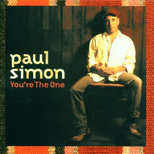 Paul Simon, You're The One, Piano, Vocal & Guitar (Right-Hand Melody), sheet music, piano notes, chords, song, artist, awards, billboard, mtv, vh1, tour, single, album, release