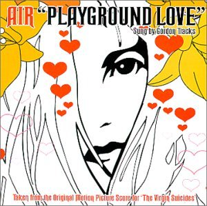 Air, Playground Love (from The Virgin Suicides), Piano, Vocal & Guitar, sheet music, piano notes, chords, song, artist, awards, billboard, mtv, vh1, tour, single, album, release