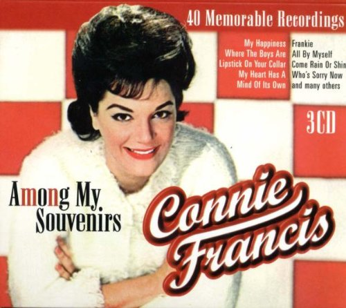 Connie Francis, Among My Souvenirs, Piano, Vocal & Guitar (Right-Hand Melody), sheet music, piano notes, chords, song, artist, awards, billboard, mtv, vh1, tour, single, album, release