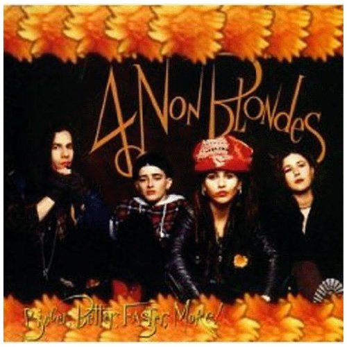 4 Non Blondes, What's Up, Piano, Vocal & Guitar (Right-Hand Melody), sheet music, piano notes, chords, song, artist, awards, billboard, mtv, vh1, tour, single, album, release