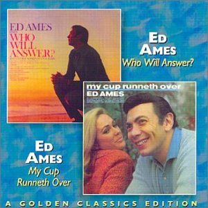 Ed Ames, My Cup Runneth Over, Piano, Vocal & Guitar (Right-Hand Melody), sheet music, piano notes, chords, song, artist, awards, billboard, mtv, vh1, tour, single, album, release