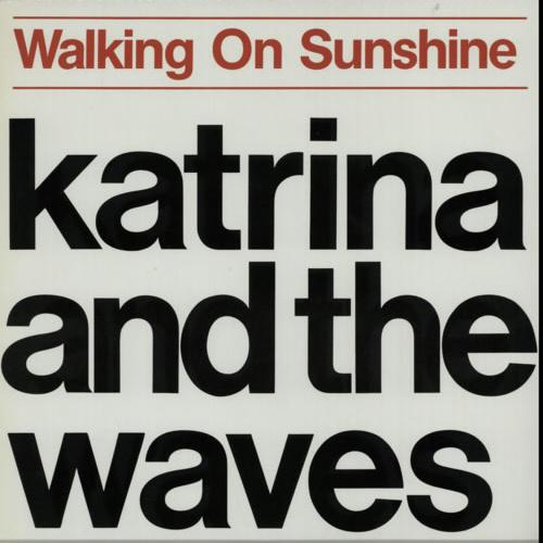 Katrina & The Waves, Walking On Sunshine, Piano, Vocal & Guitar (Right-Hand Melody), sheet music, piano notes, chords, song, artist, awards, billboard, mtv, vh1, tour, single, album, release