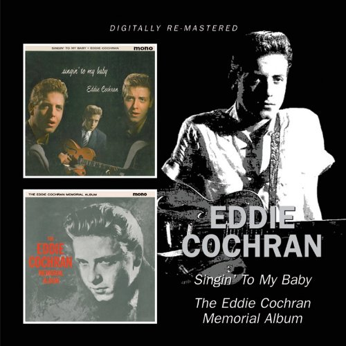 Eddie Cochran, Sittin' In The Balcony, Piano, Vocal & Guitar (Right-Hand Melody), sheet music, piano notes, chords, song, artist, awards, billboard, mtv, vh1, tour, single, album, release