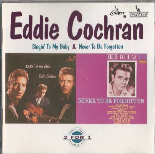 Eddie Cochran, Weekend, Piano, Vocal & Guitar (Right-Hand Melody), sheet music, piano notes, chords, song, artist, awards, billboard, mtv, vh1, tour, single, album, release