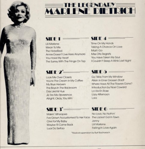 Marlene Dietrich, Look Me Over Closely, Piano, Vocal & Guitar (Right-Hand Melody), sheet music, piano notes, chords, song, artist, awards, billboard, mtv, vh1, tour, single, album, release