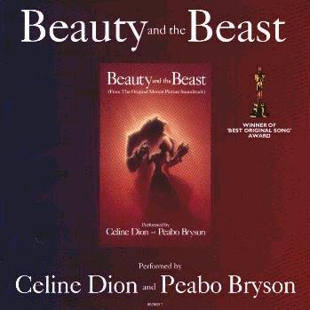 Celine Dion & Peabo Bryson, Beauty And The Beast, Easy Piano, sheet music, piano notes, chords, song, artist, awards, billboard, mtv, vh1, tour, single, album, release