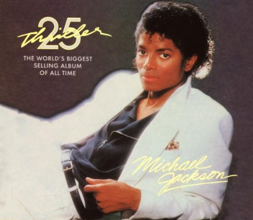 Michael Jackson, Thriller, Piano, Vocal & Guitar (Right-Hand Melody), sheet music, piano notes, chords, song, artist, awards, billboard, mtv, vh1, tour, single, album, release