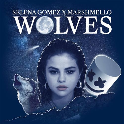 Selena Gomez & Marshmello, Wolves, Piano, Vocal & Guitar (Right-Hand Melody), sheet music, piano notes, chords, song, artist, awards, billboard, mtv, vh1, tour, single, album, release