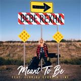 Bebe Rexha, Meant To Be (feat. Florida Georgia Line), Piano, Vocal & Guitar (Right-Hand Melody), sheet music, piano notes, chords, song, artist, awards, billboard, mtv, vh1, tour, single, album, release