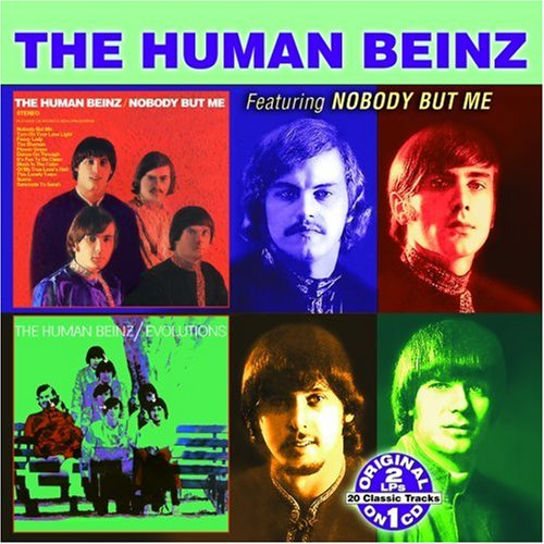 The Human Beinz, Nobody But Me, Piano, Vocal & Guitar (Right-Hand Melody), sheet music, piano notes, chords, song, artist, awards, billboard, mtv, vh1, tour, single, album, release