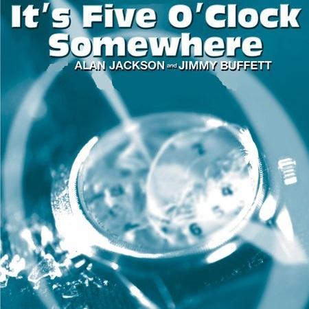Alan Jackson, It's Five O'Clock Somewhere, Piano, Vocal & Guitar (Right-Hand Melody), sheet music, piano notes, chords, song, artist, awards, billboard, mtv, vh1, tour, single, album, release