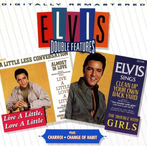 Elvis Presley, A Little Less Conversation, Guitar Tab, sheet music, piano notes, chords, song, artist, awards, billboard, mtv, vh1, tour, single, album, release