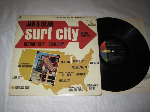 Jan & Dean, Surf City, Piano, Vocal & Guitar (Right-Hand Melody), sheet music, piano notes, chords, song, artist, awards, billboard, mtv, vh1, tour, single, album, release