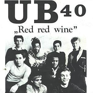 UB 40, Red, Red Wine, Piano, Vocal & Guitar (Right-Hand Melody), sheet music, piano notes, chords, song, artist, awards, billboard, mtv, vh1, tour, single, album, release