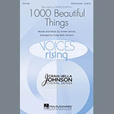 Download Craig Hella Johnson '1000 Beautiful Things' printable sheet music notes, Festival chords, tabs PDF and learn this Choral SSAATTBB song in minutes
