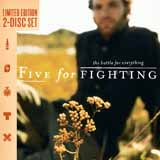 Download Five For Fighting '100 Years' printable sheet music notes, Rock chords, tabs PDF and learn this FLTDT song in minutes