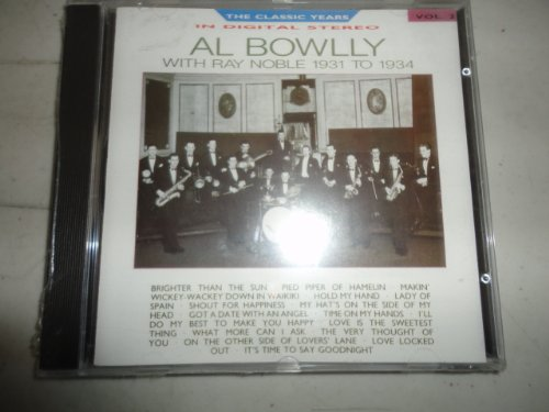Al Bowlly, Shout For Happiness, Easy Piano