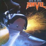 Download Anvil 'Metal On Metal' printable sheet music notes, Metal chords, tabs PDF and learn this Lyrics & Chords song in minutes