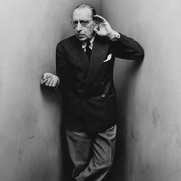 Igor Stravinsky, Andantino (No. 1 From Les Cinq Doigts), Piano