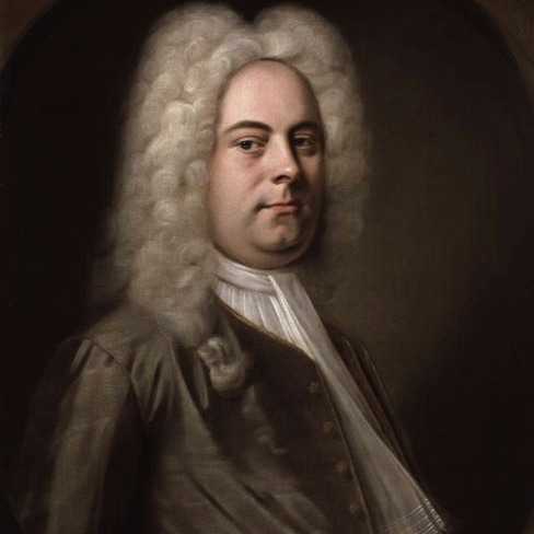 George Frideric Handel, Hornpipe (from The Water Music Suite), Melody Line & Chords