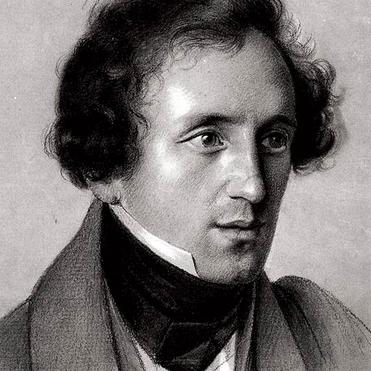 Felix Mendelssohn, O For The Wings Of A Dove, Melody Line & Chords