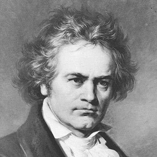 Ludwig van Beethoven, Theme From Pathetique Sonata, Melody Line & Chords