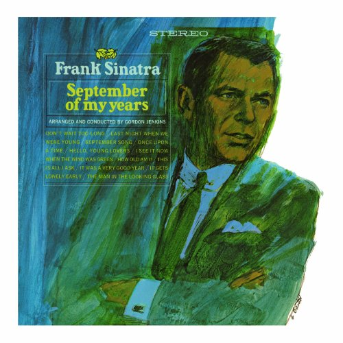 Frank Sinatra, It Was A Very Good Year, Piano, Vocal & Guitar (Right-Hand Melody)