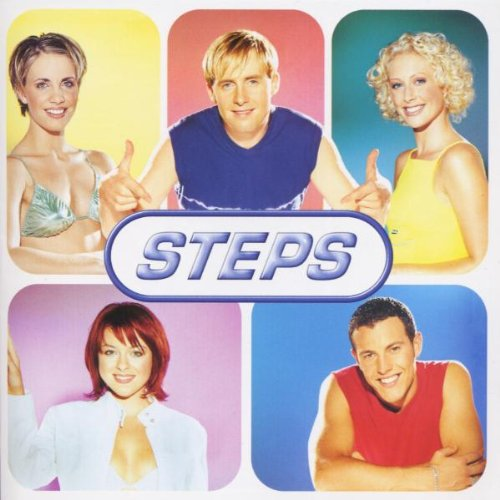 Steps, Never Say Never Again, Piano, Vocal & Guitar (Right-Hand Melody)