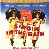 Download Arthur Freed 'Singin' In The Rain' printable sheet music notes, Broadway chords, tabs PDF and learn this Piano song in minutes