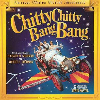 Robert B. Sherman, Chitty Chitty Bang Bang, Easy Piano