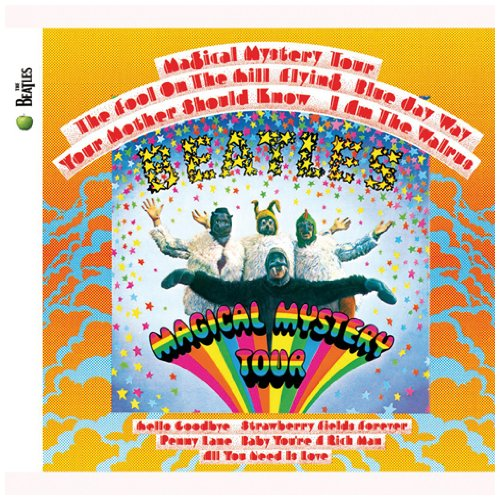 The Beatles, Blue Jay Way, Piano, Vocal & Guitar (Right-Hand Melody)