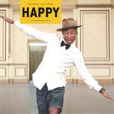 Download Pharrell Williams 'Happy' printable sheet music notes, Pop chords, tabs PDF and learn this Piano song in minutes