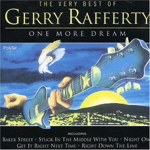 Gerry Rafferty, Right Down The Line, Piano, Vocal & Guitar (Right-Hand Melody)