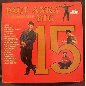 Paul Anka, Puppy Love, Piano, Vocal & Guitar (Right-Hand Melody)