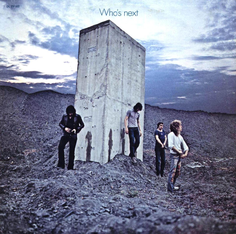 The Who, Baba O'Riley, Piano, Vocal & Guitar