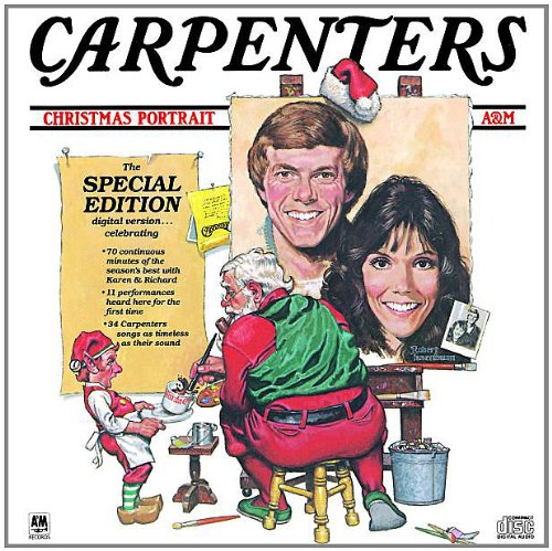 Carpenters, The Christmas Waltz, Piano, Vocal & Guitar (Right-Hand Melody)