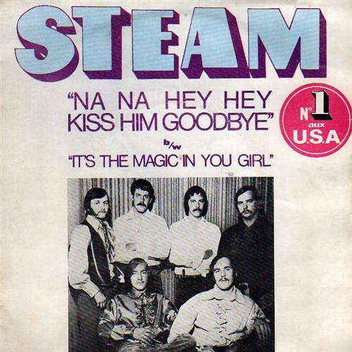 Steam, Na Na Hey Hey Kiss Him Goodbye, Piano, Vocal & Guitar (Right-Hand Melody)
