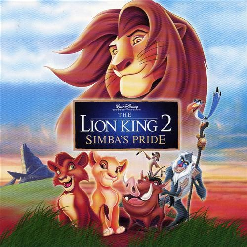 Liz Callaway and Gene Miller, Love Will Find A Way (from The Lion King II: Simba's Pride), Piano, Vocal & Guitar (Right-Hand Melody)