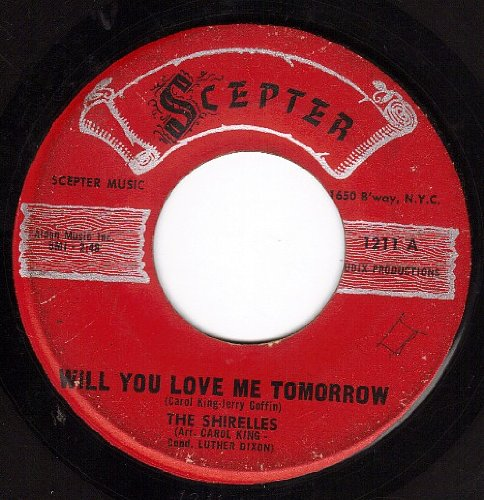The Shirelles, Will You Love Me Tomorrow (Will You Still Love Me Tomorrow), Piano, Vocal & Guitar (Right-Hand Melody)
