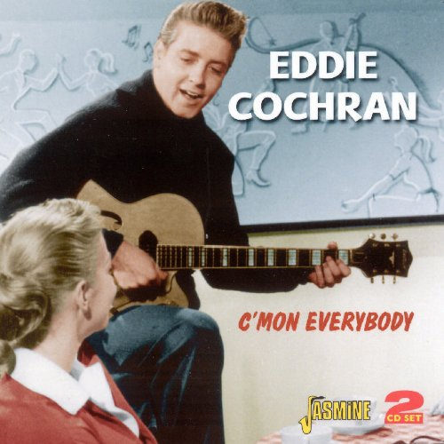 Eddie Cochran, Drive-In Show, Piano, Vocal & Guitar (Right-Hand Melody)